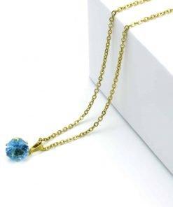 Κόσμημα μπλε κρύσταλλο