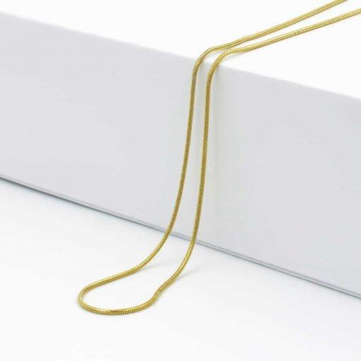 Χρυσή αλυσίδα λεπτή καλώδιο