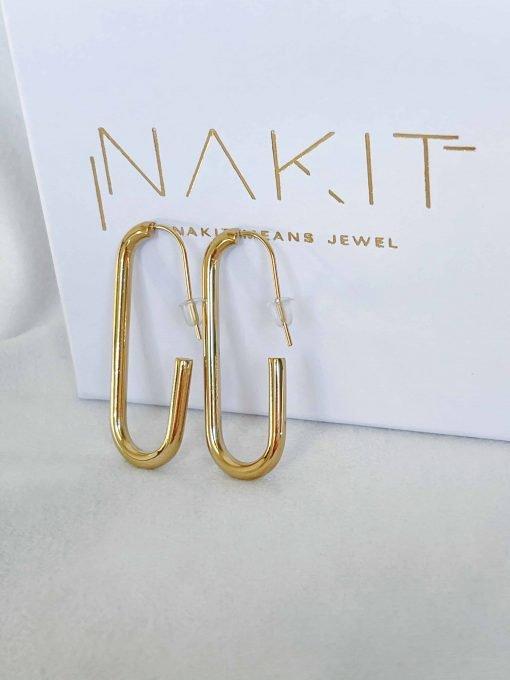 Χρυσά σκουλαρίκια